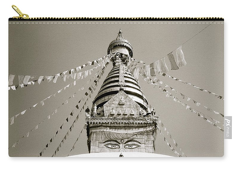 Asia Carry-all Pouch featuring the photograph Kathmandu by Shaun Higson