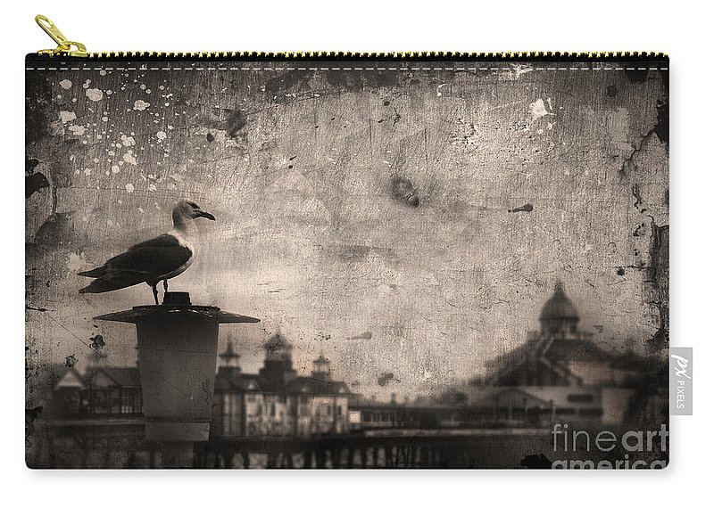 Yhun Suarez Carry-all Pouch featuring the photograph King Of The Pier by Yhun Suarez