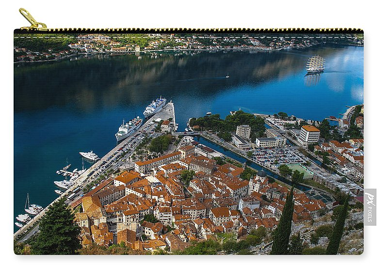Kotor Carry-all Pouch featuring the photograph Kotor Montenegro by David Gleeson