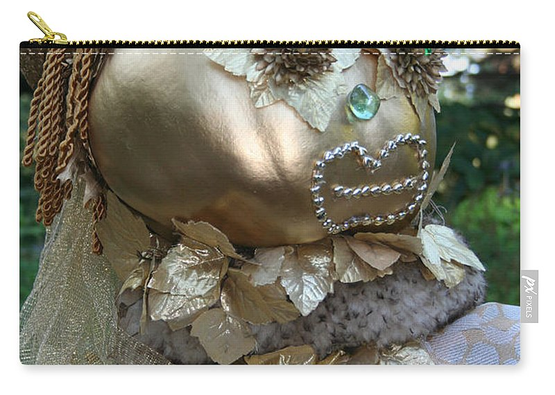 Fall Carry-all Pouch featuring the photograph Lady Goldcrow by Susan Herber