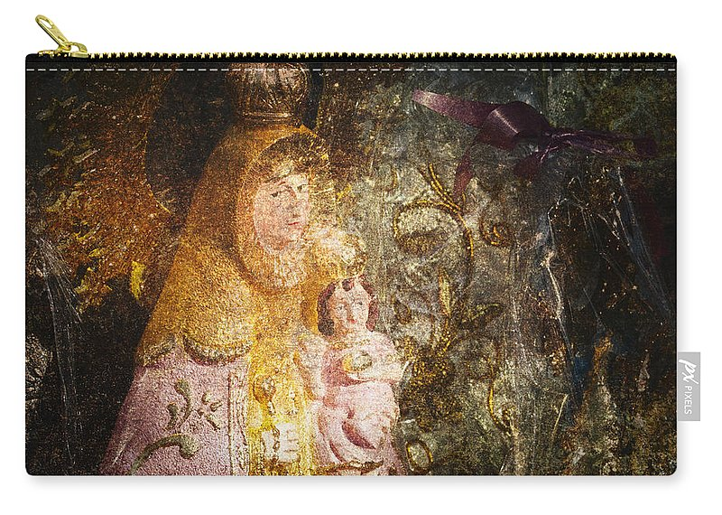 Abstract Carry-all Pouch featuring the photograph Lady by Skip Nall