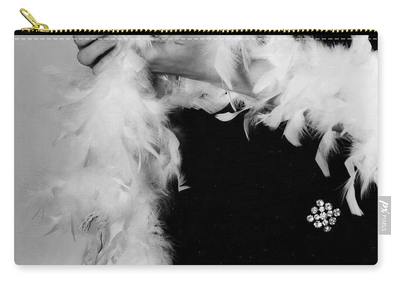 Female Carry-all Pouch featuring the photograph Lady With Heart by Joana Kruse