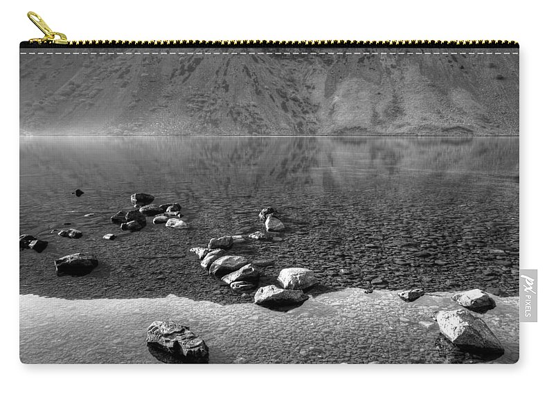 Bay Carry-all Pouch featuring the photograph Lake 06 by Svetlana Sewell