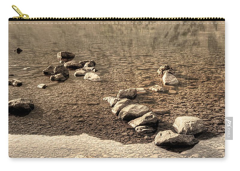 Bay Carry-all Pouch featuring the photograph Lake 07 by Svetlana Sewell