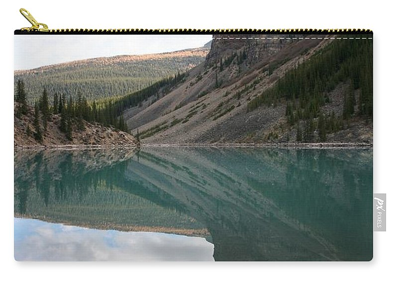 Lake Carry-all Pouch featuring the photograph Moraine Lake - Lake Louise, Alberta by Ian Mcadie