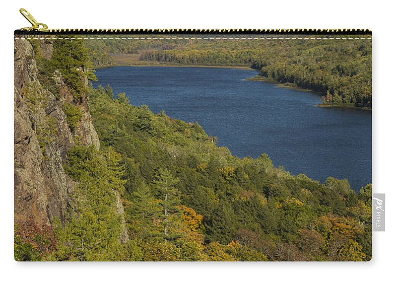 Lake Carry-all Pouch featuring the photograph Lake Of The Clouds 4 by John Brueske