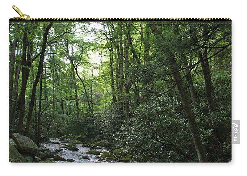 Landscape Carry-all Pouch featuring the photograph Landscape by Megan Cohen