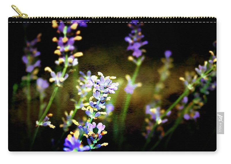 Lavender Carry-all Pouch featuring the photograph Lavender Dream by Ellen Heaverlo