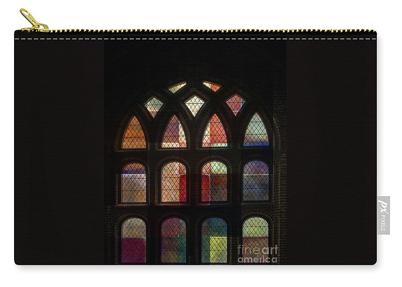 Digital Carry-all Pouch featuring the photograph Layer Experiment 1 by Richard Ortolano