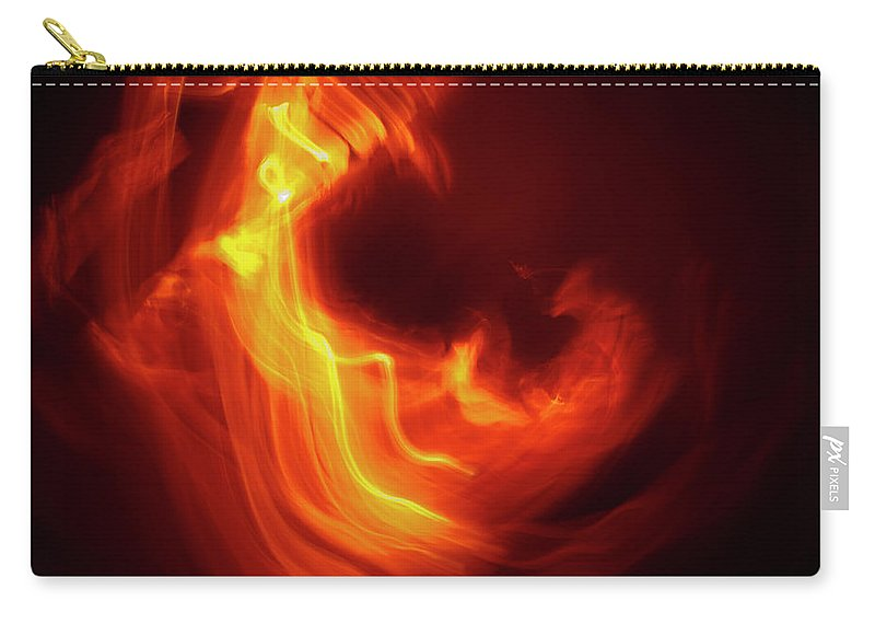 Abstract Carry-all Pouch featuring the photograph Leap by Gary Eason