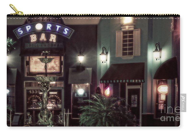 Night Carry-all Pouch featuring the photograph Legends- A Shift Of Green by Janie Johnson