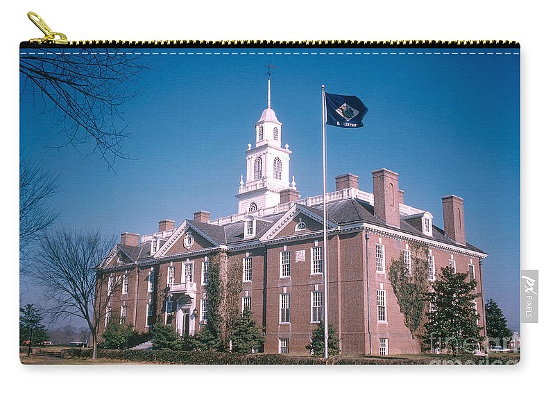 People Carry-all Pouch featuring the photograph Legislative Hall by Photo Researchers, Inc.