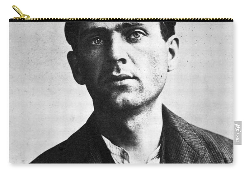 19th Century Carry-all Pouch featuring the photograph Leon Czolgosz (1873-1901) by Granger