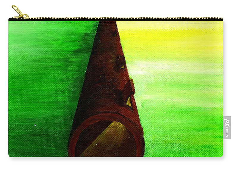 Let In The Light Carry-all Pouch featuring the painting Let In The Light by Catt Kyriacou