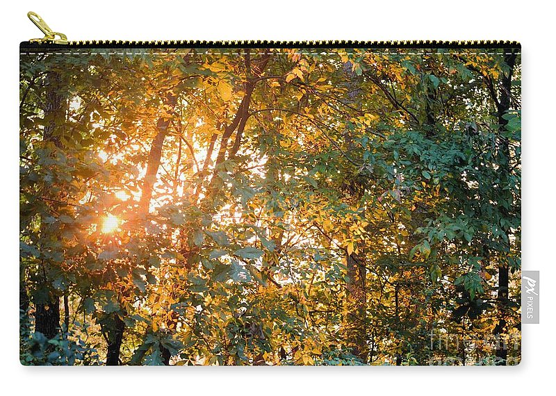 Earth Carry-all Pouch featuring the photograph Let The Earth Arise by Maria Urso