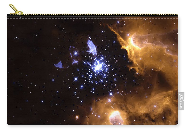 Nebula Carry-all Pouch featuring the photograph Life Cycle Of Stars by Jennifer Rondinelli Reilly - Fine Art Photography