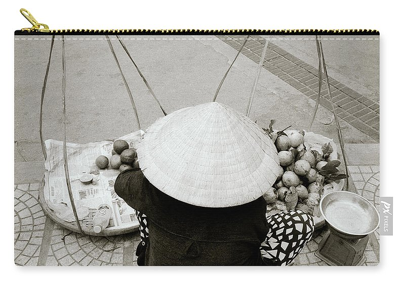 Asia Carry-all Pouch featuring the photograph Life In Hue by Shaun Higson
