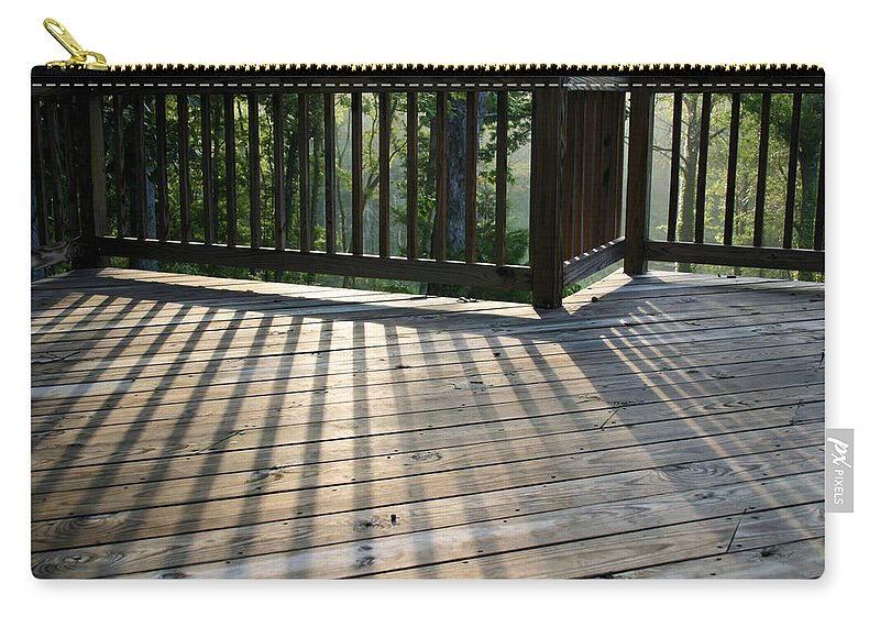Light Carry-all Pouch featuring the photograph Light And Shadow by Kristin Elmquist