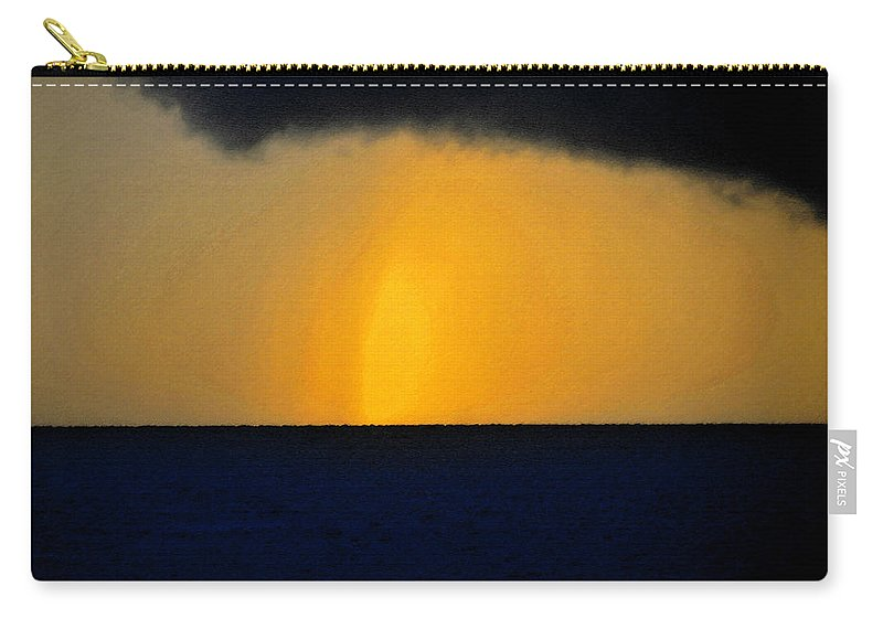 Art Carry-all Pouch featuring the painting Light Shaft by David Lee Thompson