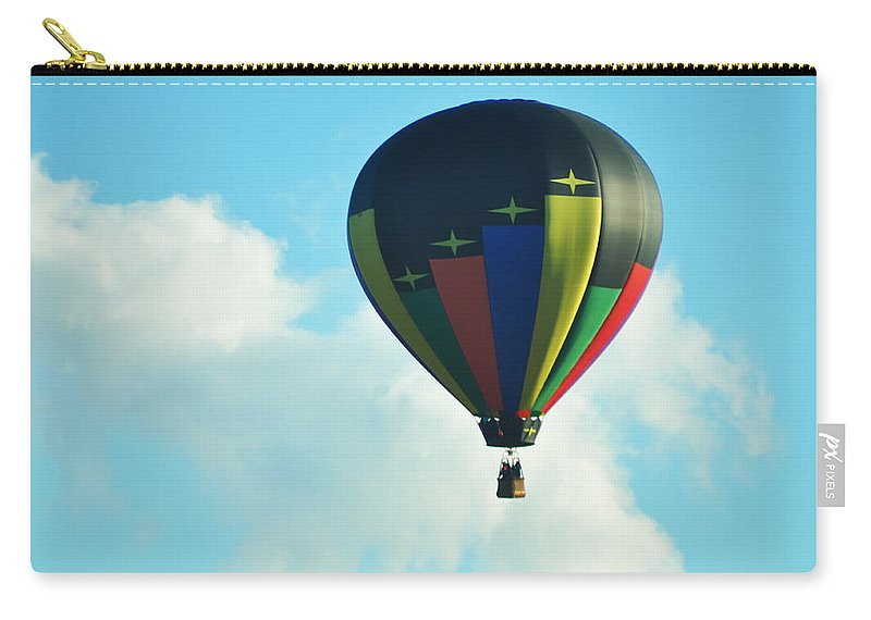 Balloon Carry-all Pouch featuring the photograph Lighter Than Air by Bill Cannon