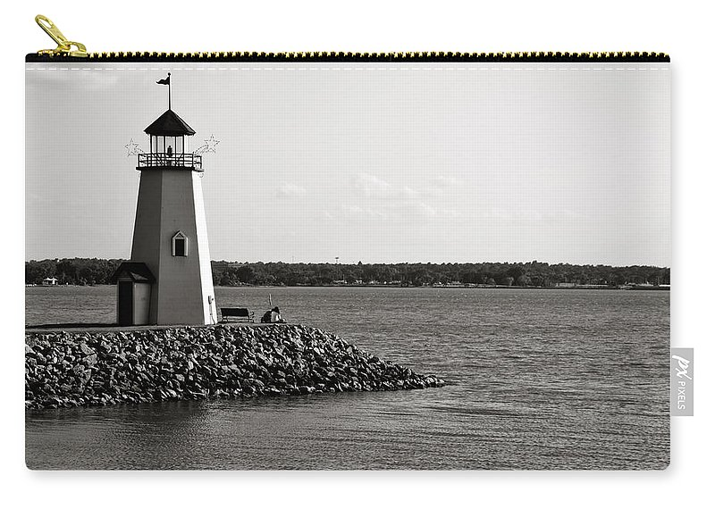Lighthouse Carry-all Pouch featuring the photograph Lighthouse by Ricky Barnard