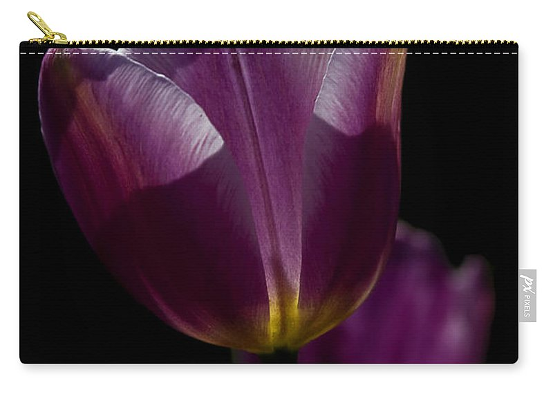 Lit From Within Carry-all Pouch featuring the photograph Lit From Within by Wes and Dotty Weber