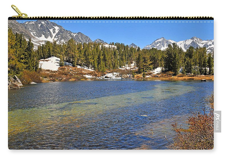 Little Lakes Carry-all Pouch featuring the photograph Little Lakes Valley by Lynn Bauer