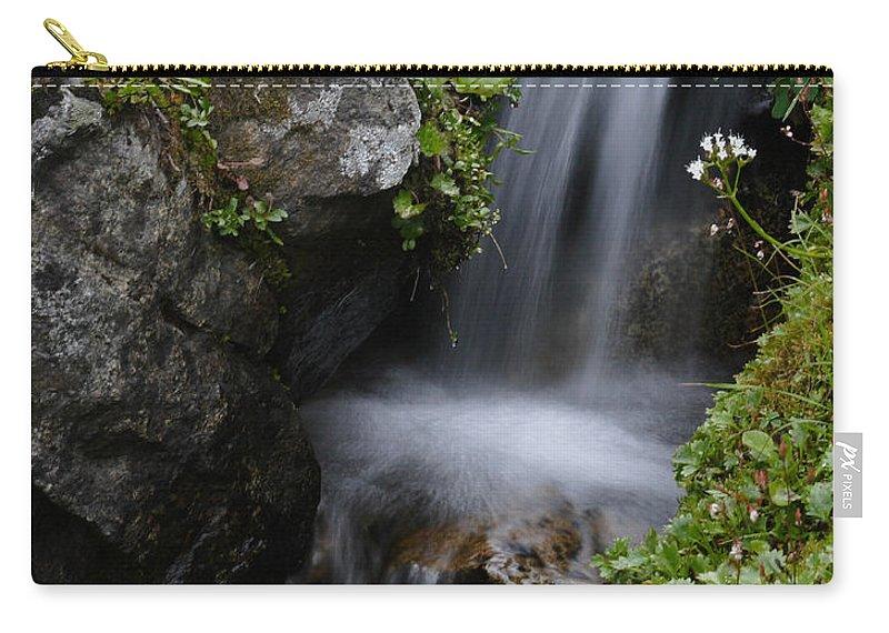 Doug Lloyd Carry-all Pouch featuring the photograph Little Splash by Doug Lloyd