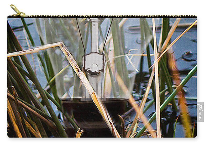 Art Carry-all Pouch featuring the photograph Living In Glass Houses by Ronel Broderick