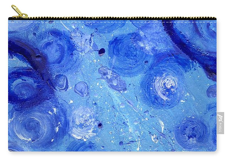 Water Carry-all Pouch featuring the painting Living Water by Craig Imig