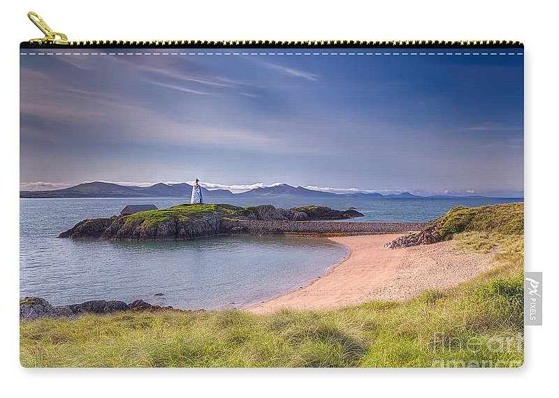 Beacon Carry-all Pouch featuring the photograph Llanddwyn Beacon by Adrian Evans