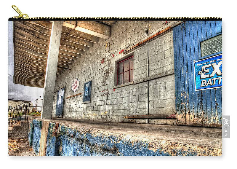 Acrylic Prints Carry-all Pouch featuring the photograph Loading Dock by John Herzog