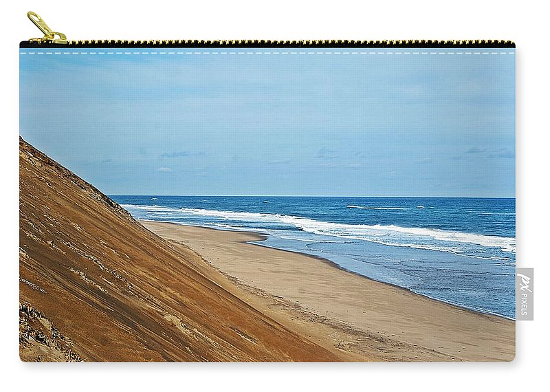 Longnook Carry-all Pouch featuring the photograph Longnook Beach I by Joe Faherty