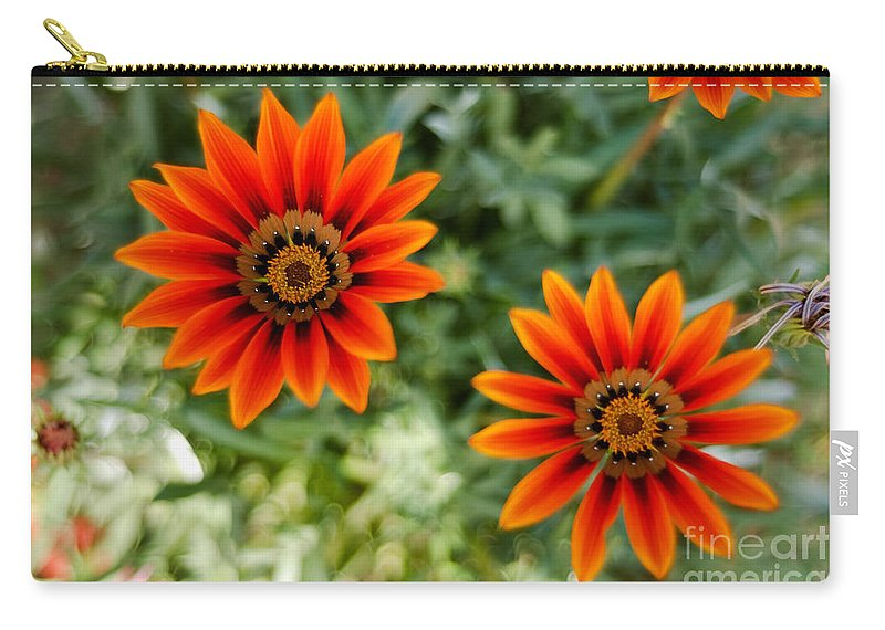 Flower Carry-all Pouch featuring the photograph Looking Alike by Syed Aqueel