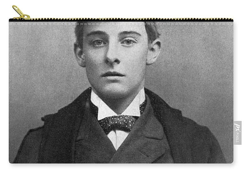1891 Carry-all Pouch featuring the photograph Lord Alfred Bruce Douglas by Granger