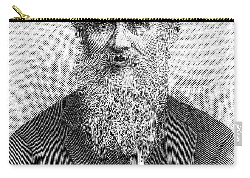 19th Century Carry-all Pouch featuring the photograph Lord Kelvin (1824-1907) by Granger