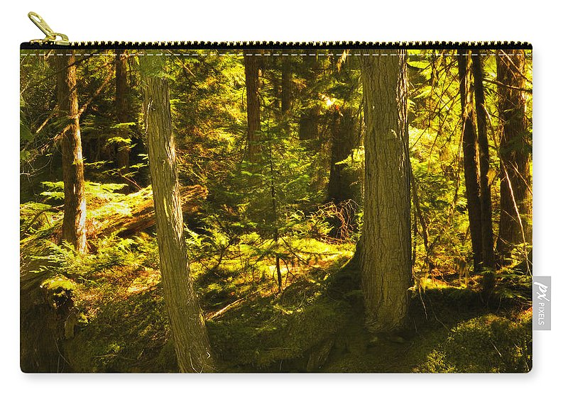 Glacier National Park Carry-all Pouch featuring the photograph Lord Of The Rings Glacier National Park by Rich Franco