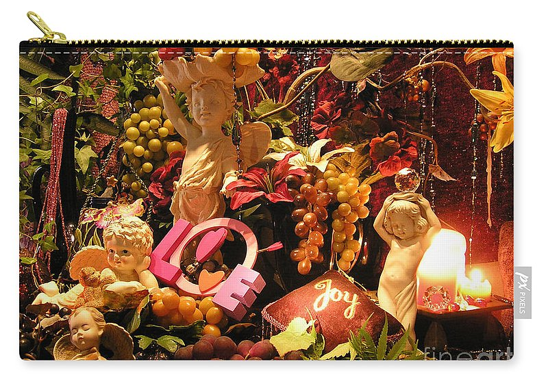 Love Carry-all Pouch featuring the photograph Love And Joy by Anthony Wilkening