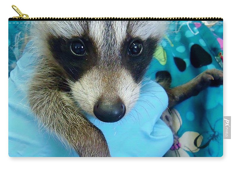 Nature Carry-all Pouch featuring the photograph Love At First Sight by Art Dingo