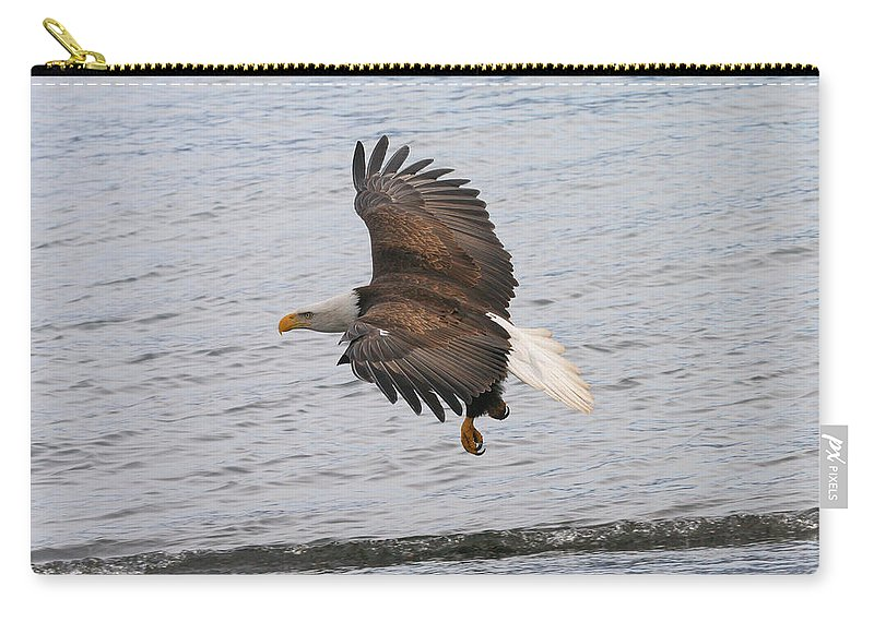 Doug Lloyd Carry-all Pouch featuring the photograph Low Pass by Doug Lloyd