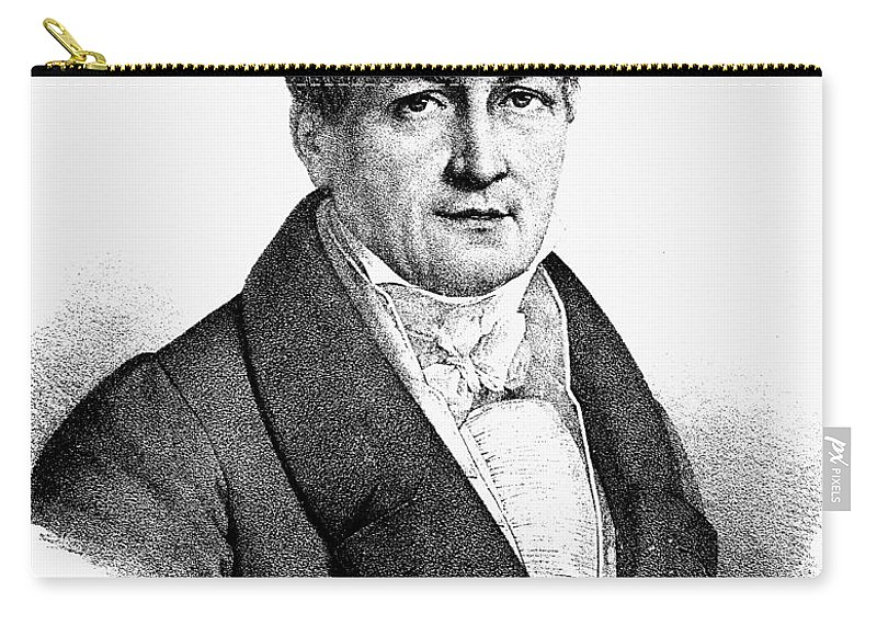 18th Century Carry-all Pouch featuring the photograph Ludwig Tieck (1773-1853) by Granger