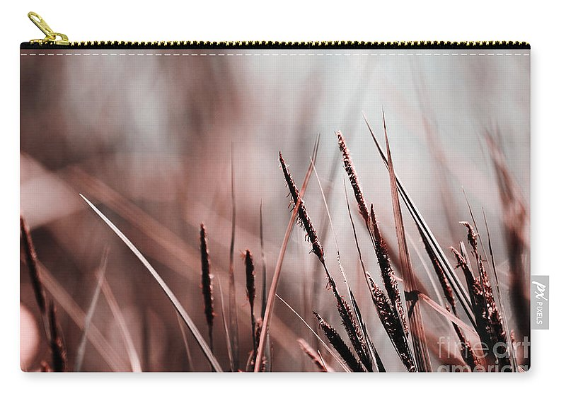 Brown Carry-all Pouch featuring the photograph Luminis - S03a - Brown by Variance Collections