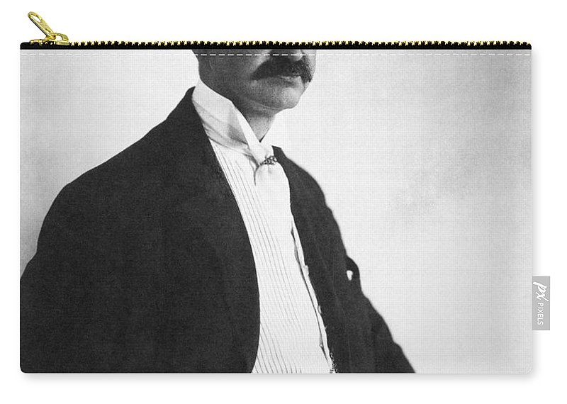 1908 Carry-all Pouch featuring the photograph Lyman Frank Baum by Granger