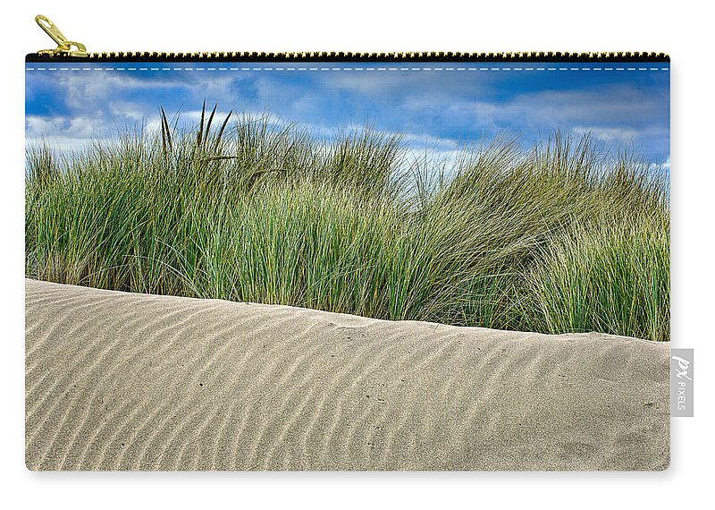 Landscape Carry-all Pouch featuring the photograph Mad River Dune by Greg Nyquist