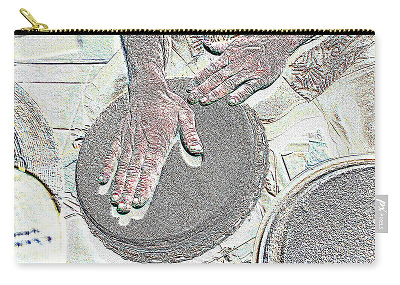 Hands Carry-all Pouch featuring the photograph Magic Hands by Michael Merry