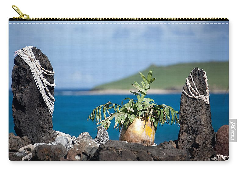 Shell Carry-all Pouch featuring the photograph Magic Place by Ralf Kaiser
