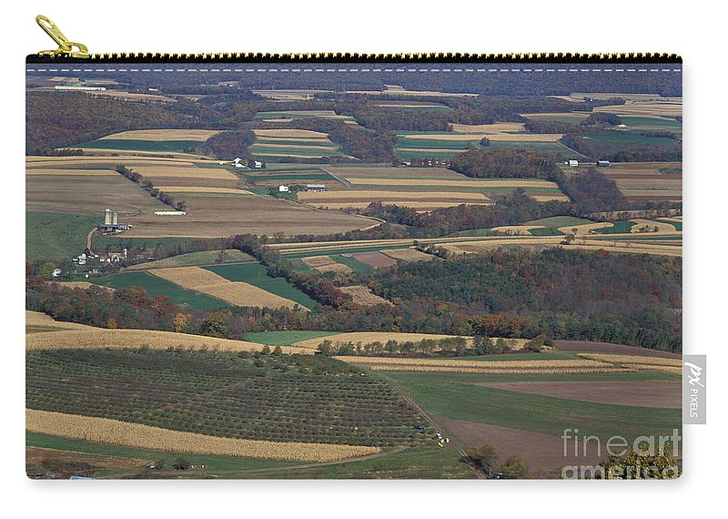 Mahantango Creek Watershed Carry-all Pouch featuring the photograph Mahantango Creek Watershed, Pa by Photo Researchers