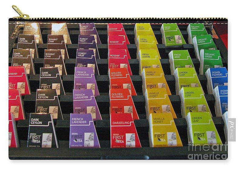 Choice Carry-all Pouch featuring the photograph Make Your Choice. All Colors All Tastes. by Ausra Huntington nee Paulauskaite
