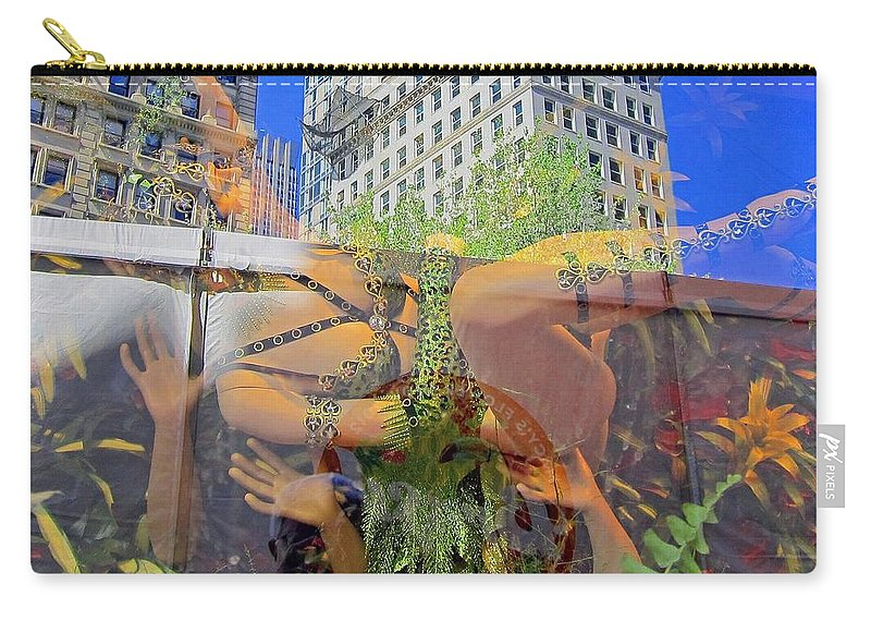 Brazil Carry-all Pouch featuring the photograph Brazilian Fantasy by Stefa Charczenko