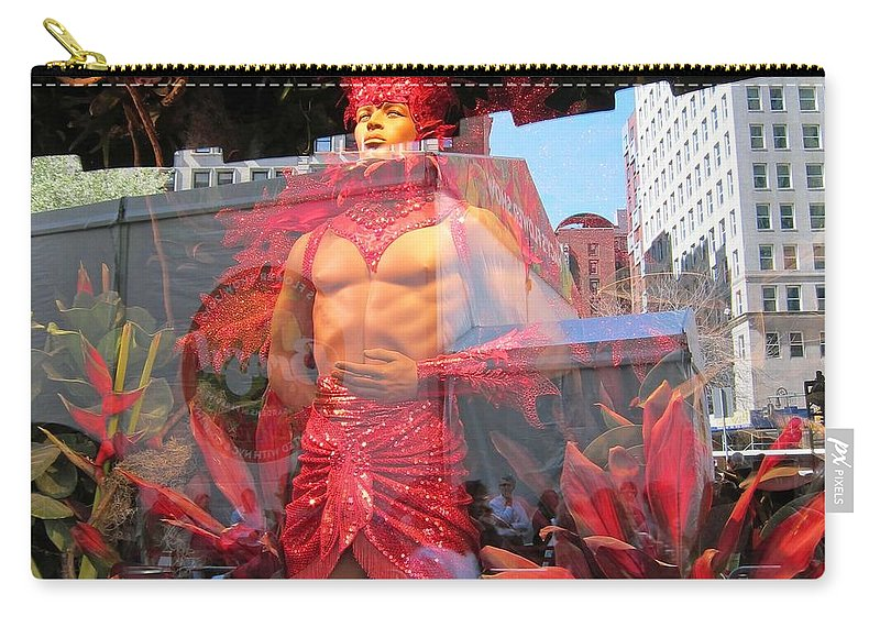 Fantasy Carry-all Pouch featuring the photograph Red Hot by Stefa Charczenko